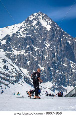 Skialp At High Tatras, Slovakia