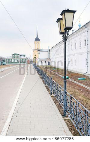 KOLOMNA, RUSSIA - MARCH 21, 2015: Bogoyavlensky Staro-Golutvin monastery.