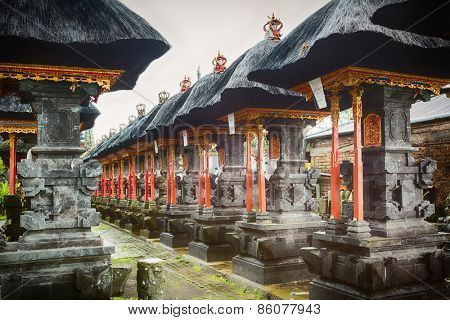 Traditional balinese temple Pura Beji