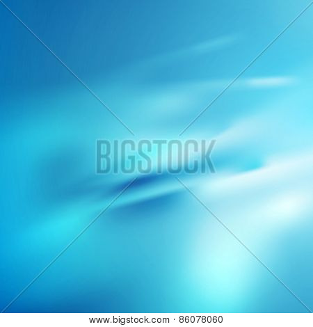 Bright blue abstract smooth texture background. Vector gradient mesh