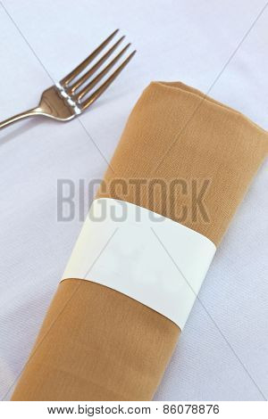 Napkin And Fork