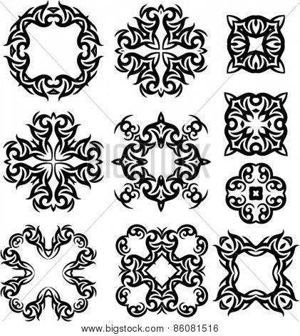Tribal Tattoo Design Vector Art
