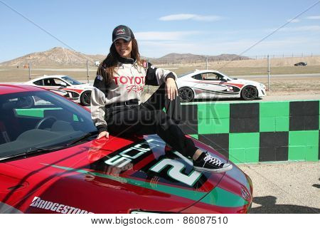 LOS ANGELES - FEB 21:  Donna Feldman at the Grand Prix of Long Beach Pro/Celebrity Race Training at the Willow Springs International Raceway on March 21, 2015 in Rosamond, CA