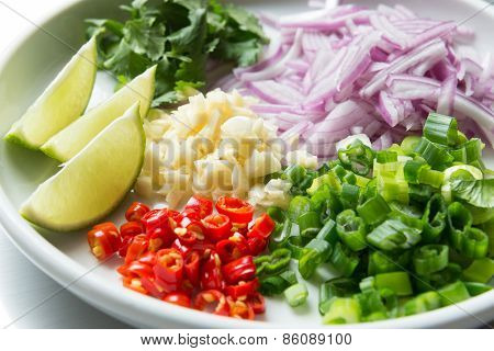 Thai Spicy Salad Ingredient