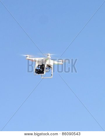 LOS ANGELES - FEB 21:  drone at the Grand Prix of Long Beach Pro/Celebrity Race Training at the Willow Springs International Raceway on March 21, 2015 in Rosamond, CA