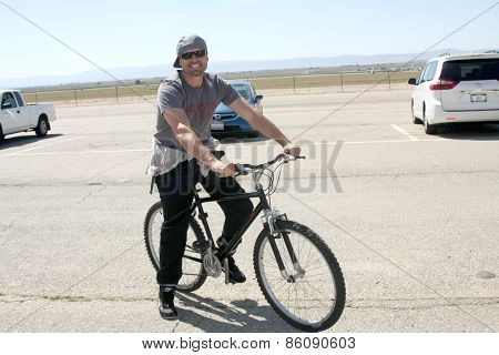 LOS ANGELES - FEB 21:  Joshua Morrow at the Grand Prix of Long Beach Pro/Celebrity Race Training at the Willow Springs International Raceway on March 21, 2015 in Rosamond, CA
