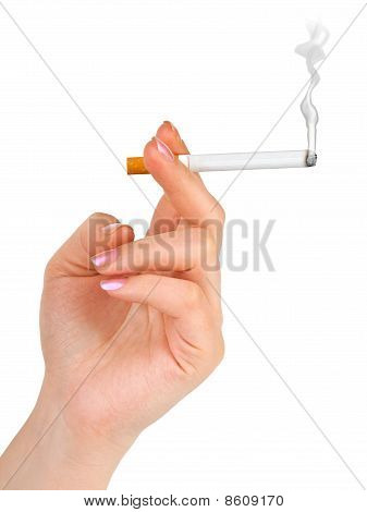 Hand With Cigarette