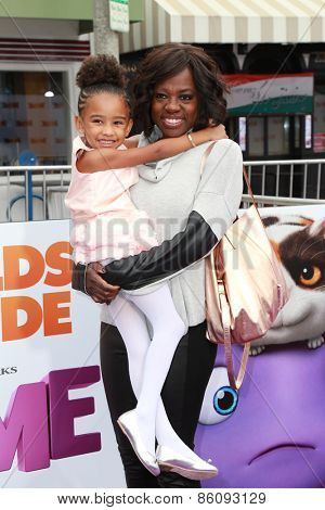 LOS ANGELES - FEB 22:  Viola Davis at the