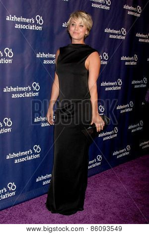 LOS ANGELES - MAR 18:  Kaley Cuoco-Sweeting at the 23rd Annual A Night at Sardi's to benefit the Alzheimer's Association at the Beverly Hilton Hotel on March 18, 2015 in Beverly Hills, CA
