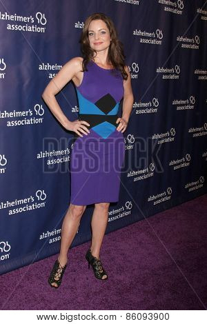 LOS ANGELES - MAR 18:  Kimberly Williams-Paisley at the 23rd Annual A Night at Sardi's to benefit the Alzheimer's Association at the Beverly Hilton Hotel on March 18, 2015 in Beverly Hills, CA