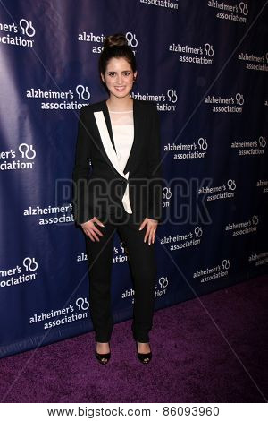 LOS ANGELES - MAR 18:  Laura Marano at the 23rd Annual A Night at Sardi's to benefit the Alzheimer's Association at the Beverly Hilton Hotel on March 18, 2015 in Beverly Hills, CA