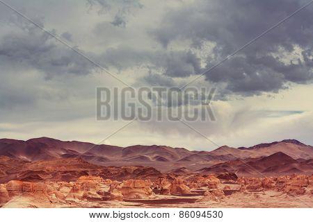 Campo de Piedra Pomez,  Argentina