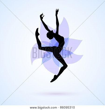 Woman Dancing Icon