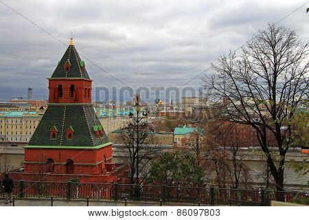 The Tower On The Red Square Moscow Russia