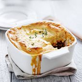 image of shepherds  - shepherds pie with missing piece - JPG