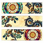 image of batik  - Paisley batik background - JPG