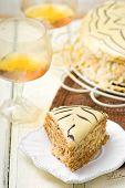stock photo of tort  - Esterhazy Torte - JPG