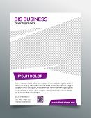foto of prospectus  - Creative multipurpose business flyer template  - JPG