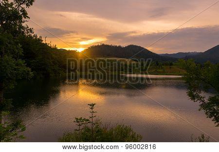 Sunset at Mrzla Vodica