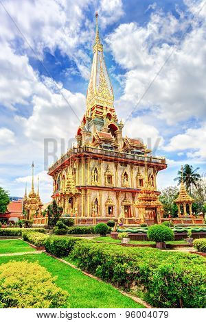 temple Wat Chalong