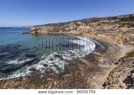 Abalone Cove in the Palos Verdes area near Los Angeles, California.