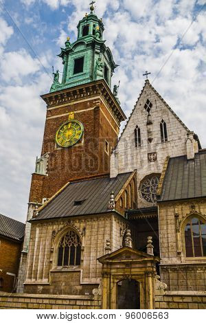 Basilica of Saints Stanislaus and Wenceslaus on the Wawel Hill