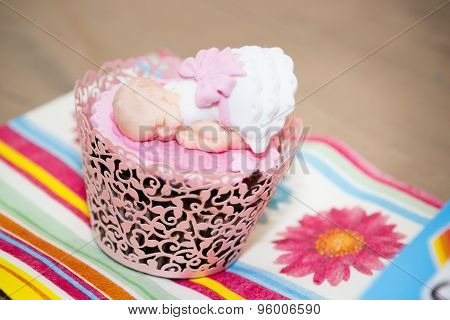 Cupcake For a Baby Shower Party