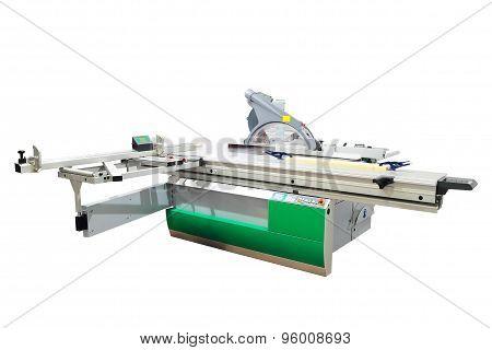 Industrial format circular saw machine