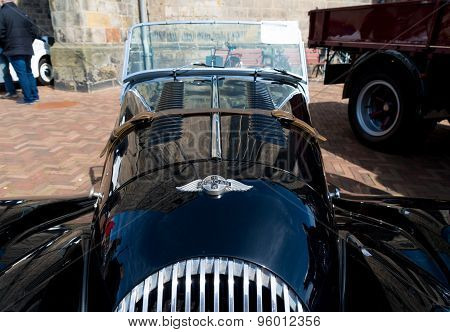 Black Oldtimer Car