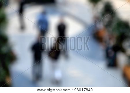Blurred background store