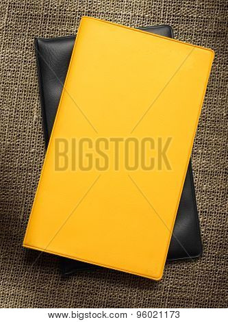 Yellow Blank Book