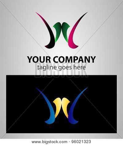 Vector Letter W logo icon design
