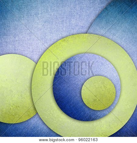 abstract blue and green background layers of green blue circle shapes in random artistic pattern com