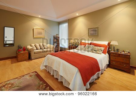 Interior design: Classic Bedroom