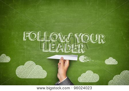 Follow your leader concept