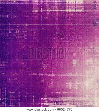 Grunge, vintage old background. With different color patterns: gray; purple (violet); pink