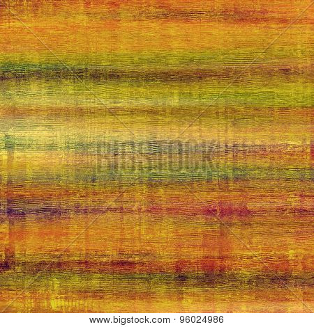 Rough vintage texture. With different color patterns: yellow (beige); brown; green; pink