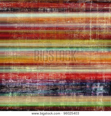 Vintage texture for background. With different color patterns: yellow (beige); brown; purple (violet); green; red (orange)