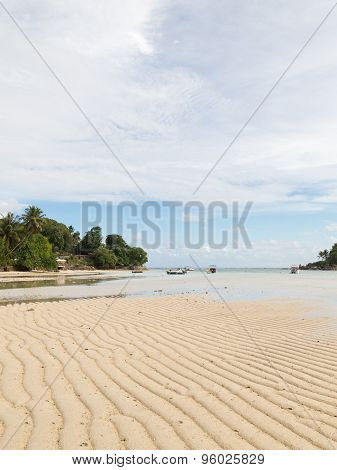 Seascape With Beautiful White Sand