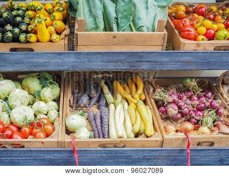 Vegetables Store