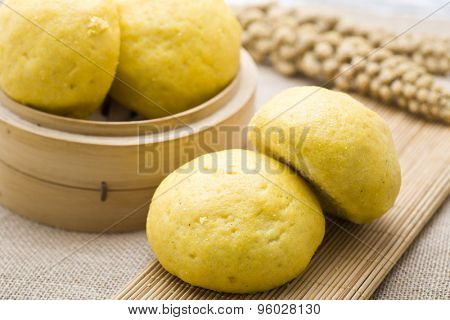 Chinese food - steamed stuffed bun