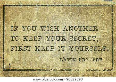 Keep Secret Lp