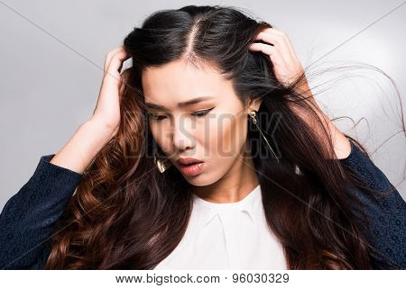 Woman With Gorgeous Hair