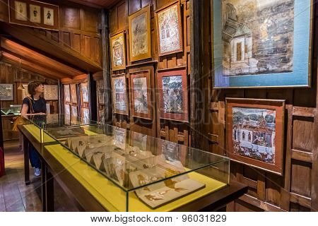 Jim Thompson Museum in Bangkok Thailand