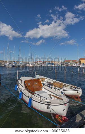 White Motor Boats