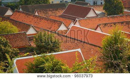 The Roof of Typical Thai House