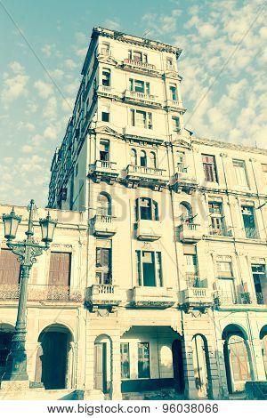 Havana Cuba Buildings And Streets Scene