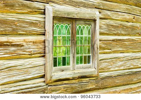 Old Window Glass