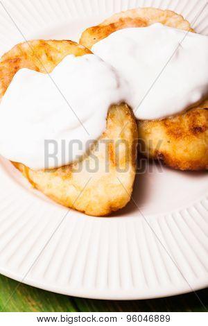 stuffed potato pancakes