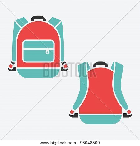 Vector backpack